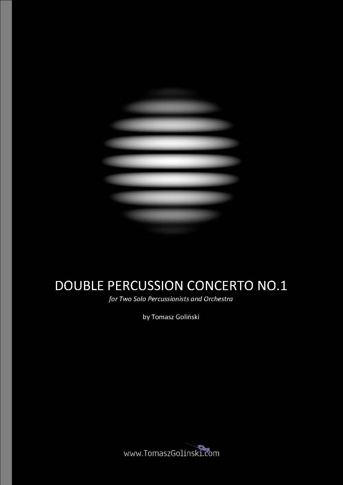 Duble Percussion Concerto Golinski
